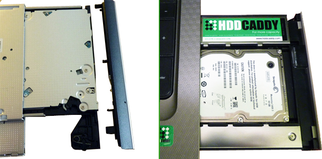 Which HDD Caddy for my laptop? | HDDCaddy eu - HDD Caddy for