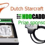 HDDCaddy prize sponsor of the Dutch Starcraft League qualifiers!