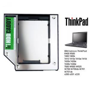 HDD Caddy for IBM Lenovo ThinkPad T500 W500 x200 x201 x220 laptop