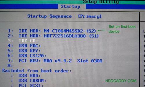 thinkpad boot from usb