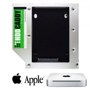 2nd SATA Hard Drive HDD SSD Caddy for Mac mini A1283 A1347 Macmini3,1 Macmini4,1