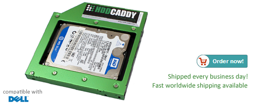 Dell Inspiron 15 – 5558 HDD Caddy | HDDCaddy eu - HDD Caddy for 2nd