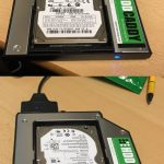 Support for activity LED on HDD Caddy